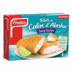 FINDUS 4 ALASKAN POLLOCK COATED FILLET GLUTEN FREE