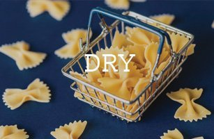 dry items and products