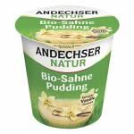 ANDESCHERORGANIC Cream Pudding Vanilla 10% 150G