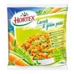 HORTEX CARROT WITH GREENPEAS 400G